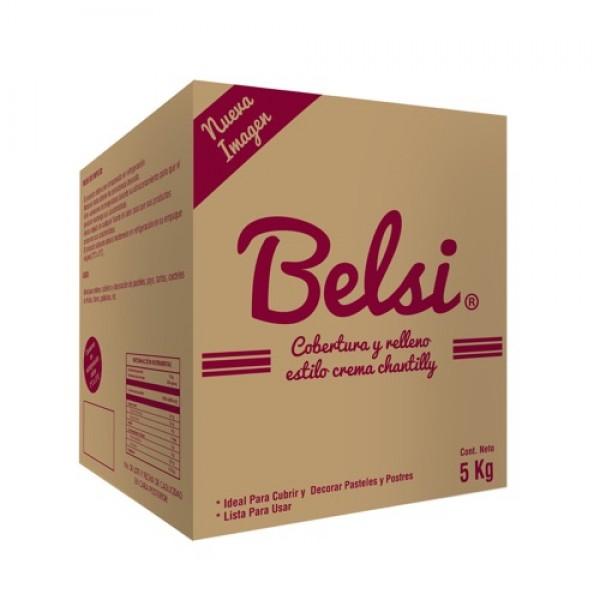 BELSI® COBERTURA Y RELLENO ESTILO CREMA CHANTILLY