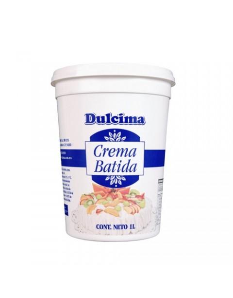 DULCIMA® CREMA BATIDA IDEAL PARA FRUTAS Y POSTRES